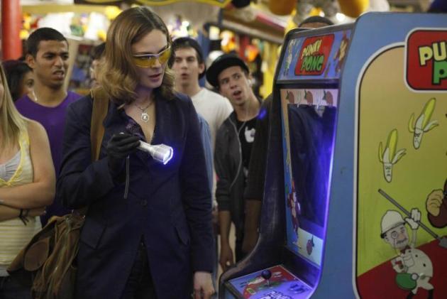 At an Arcade