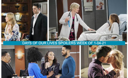 Days of Our Lives Spoilers Week of 1-04-21: Everything Falls Apart