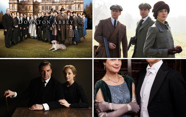 Season 5 cast photo downton abbey