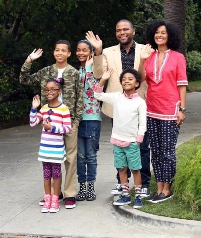 The Johnson Family - black-ish
