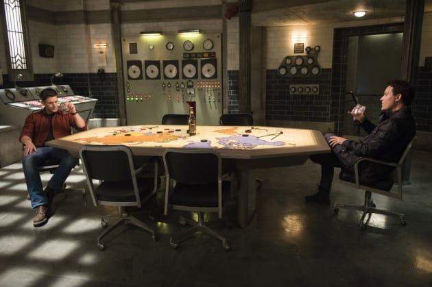 Dean meets with Mr. Ketch - Supernatural Season 12 Episode 14