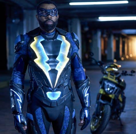 Thunder's Bike - Black Lightning Season 2 Episode 15
