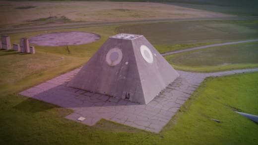 Mysteries of the Abandoned Concrete Pyramid