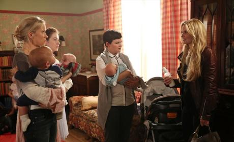 The Storybrooke Babies - Once Upon a Time Season 4 Episode 7