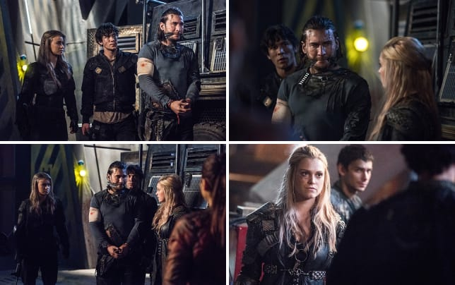 Look whos back the 100 season 3 episode 15
