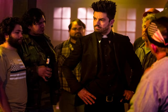Jesse Interrupts - Preacher Season 2 Episode 7