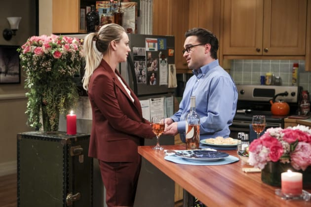 Penny and Leonard Have a Chat - The Big Bang Theory Season 10 Episode 13
