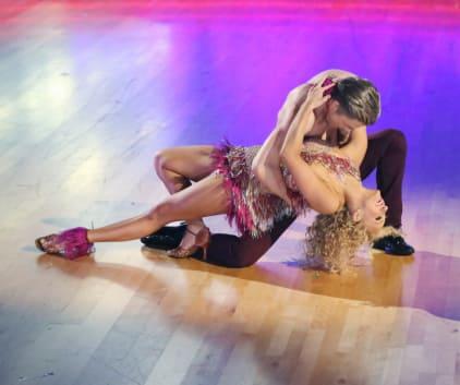 Nastia Liukin and Derek Hough - Dancing With the Stars Season 20 Episode 4