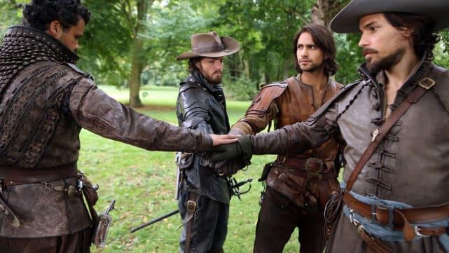 """""""Surrender, monsieur."""" The Musketeers"""