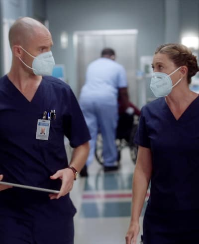 Between the Masks - Tall - Grey's Anatomy Season 17 Episode 2