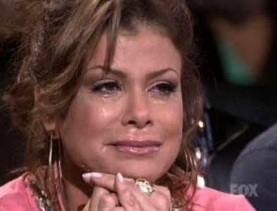 Paula Abdul Crying
