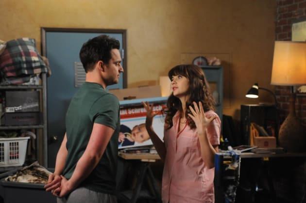 Nick and Jess Fight