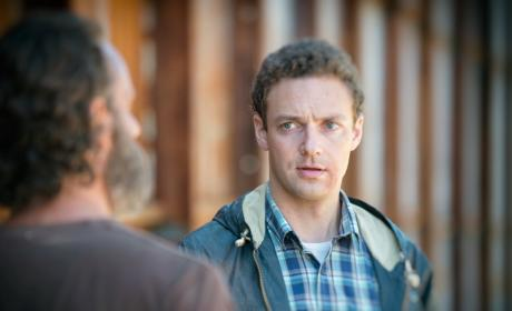 Aaron on The Walking Dead Season 5 Episode 12