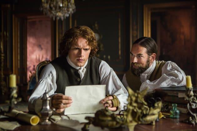 Reading Letters - Outlander
