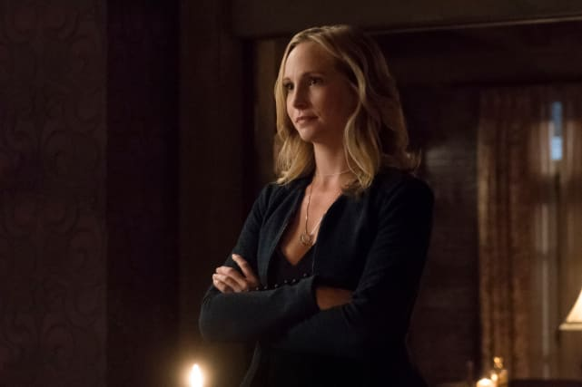 Caroline Forbes Being Away from the Action - Doesn't Work