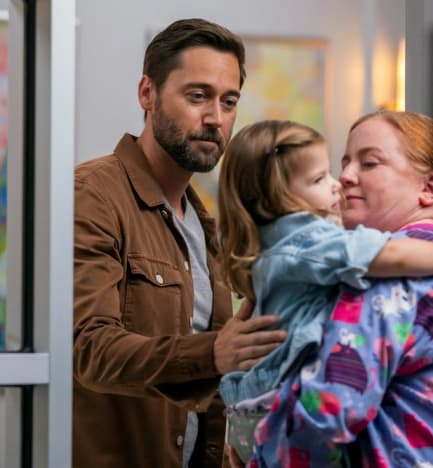 Daycare Goodbyes - tall - New Amsterdam Season 4 Episode 1
