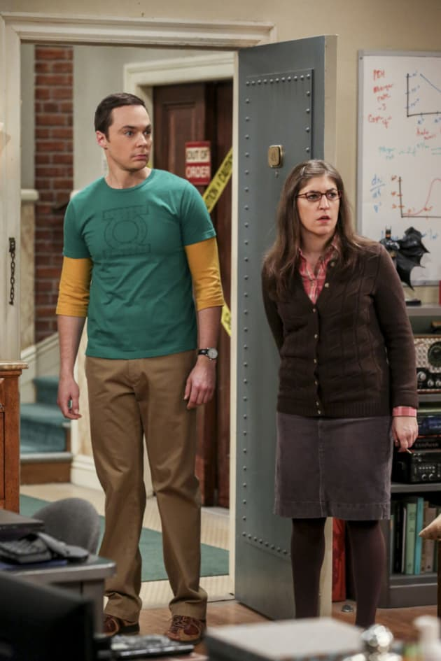Sheldon's Dismay - The Big Bang Theory