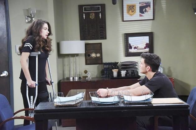 Ciara Confronts Ben - Days of Our Lives