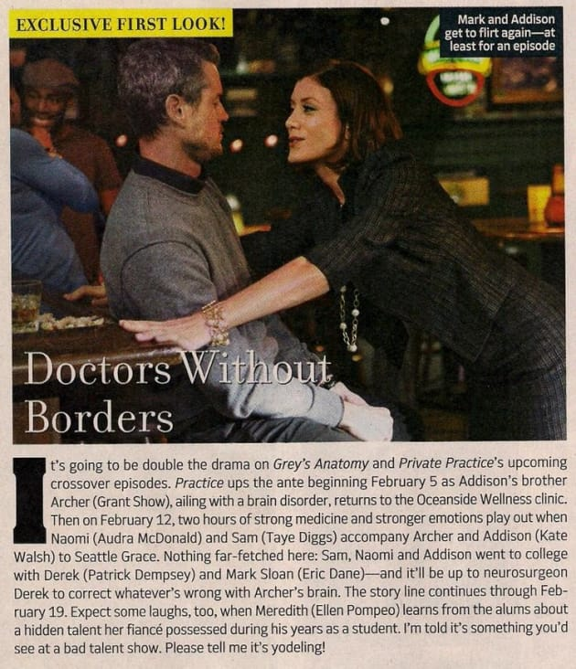 Mark and Addison TV Guide Photo