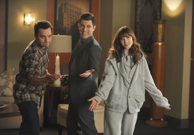 Making the Pitch - New Girl