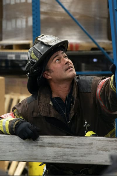 Severide takes charge