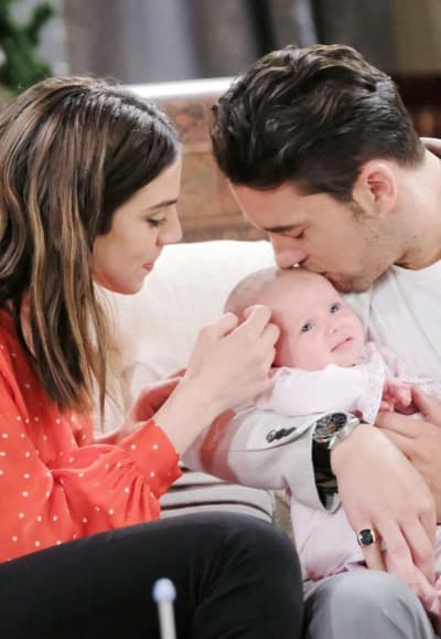 Chad is the Father - Days of Our Lives