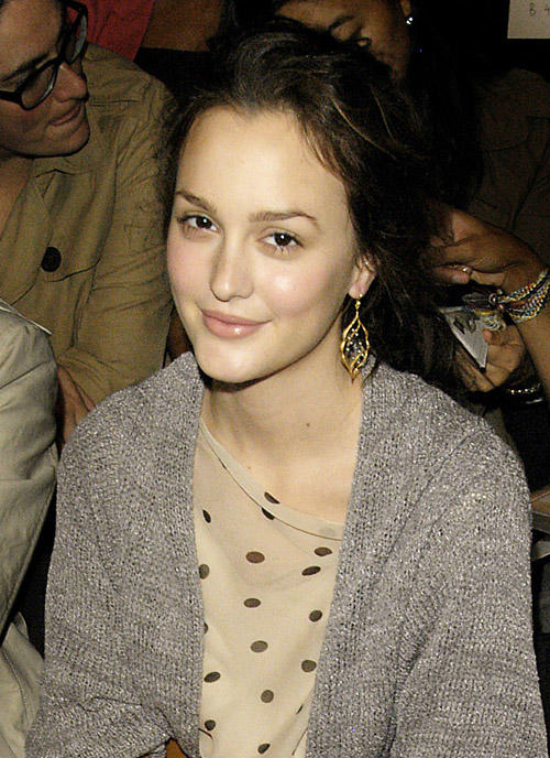 Leighton at Fashion Week