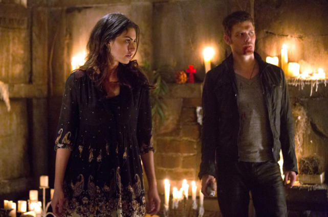 Hayley with Klaus