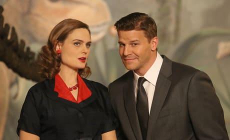 What a Good Looking Couple! - Bones Season 10 Episode 10