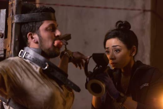 Gruesome Scene - Lucifer Season 2 Episode 3