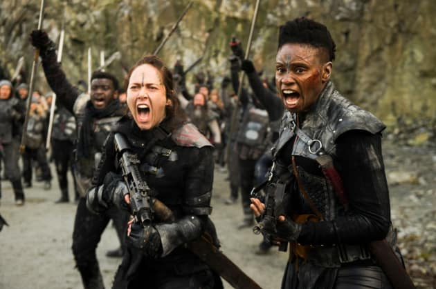 Indra in the Battlefield  - The 100 Season 5 Episode 13
