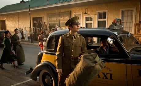 Damon in Uniform