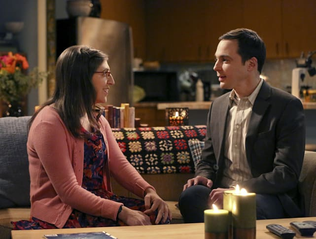 Their first night the big bang theory