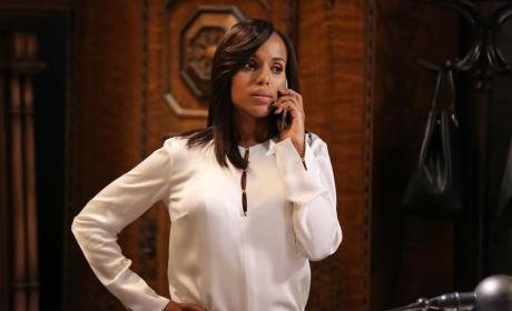 Olivia Takes a Call - Scandal Season 4 Episode 8