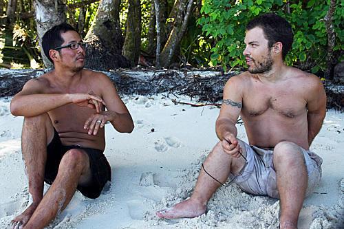 Jonas Otsuji and Leif Manson
