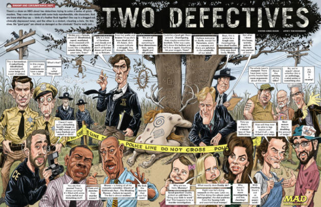 Mad Magazine True Defectives
