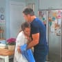 Rafe Comforts Lani - Days of Our Lives