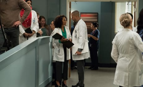 Wishing Jackson Luck - Grey's Anatomy Season 14 Episode 20