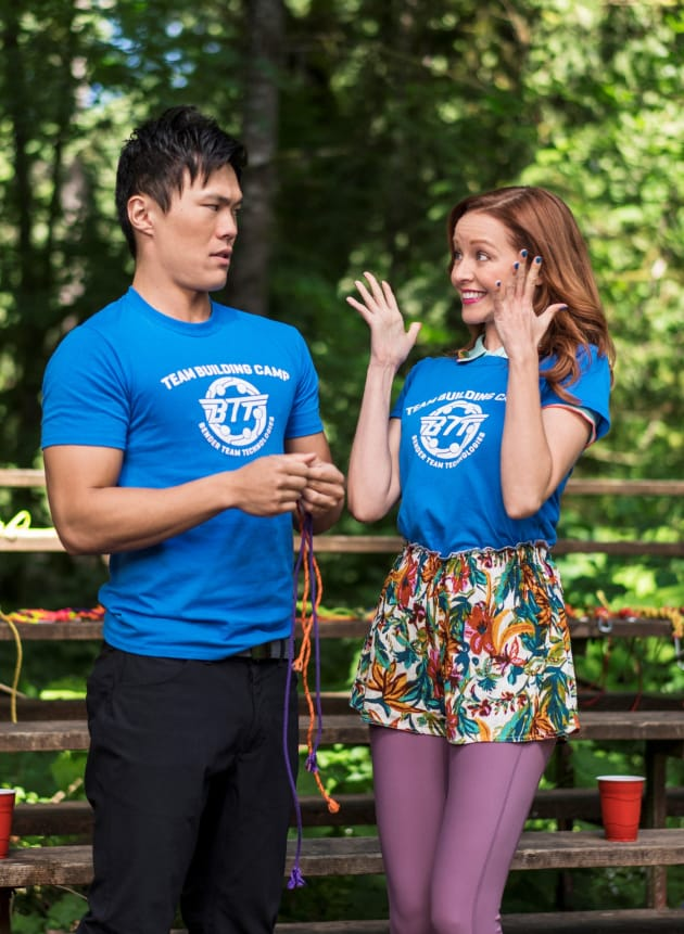 Finding Their Way - The Librarians Season 4 Episode 7