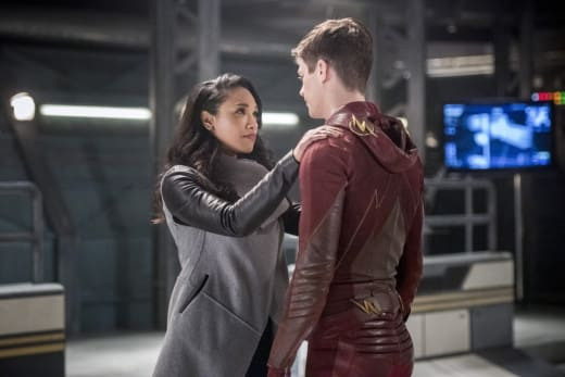 Be Safe - The Flash Season 3 Episode 22
