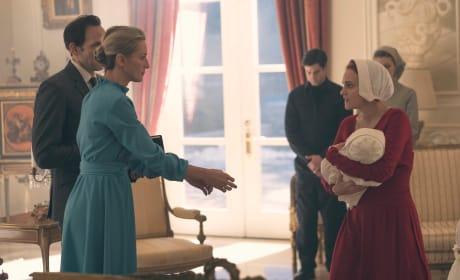Janine Hands Over Her Baby - The Handmaid's Tale Season 1 Episode 9