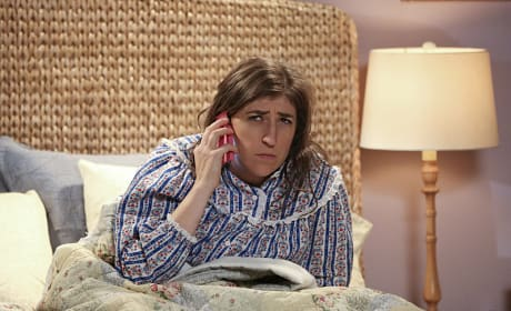 Amy Gets a Puzzling Phone Call - The Big Bang Theory Season 9 Episode 11