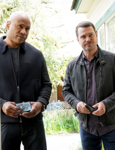 Chasing a Suspect - NCIS: Los Angeles Season 10 Episode 23