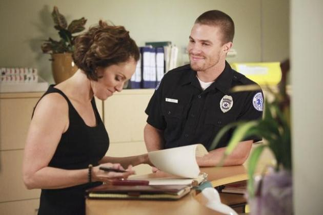 Stephen Amell on Private Practice
