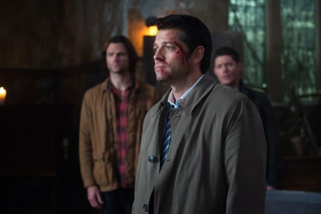A bloody Castiel - Supernatural Season 12 Episode 10