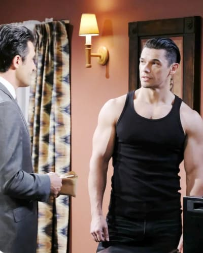 Xander and Ted Bond - Days of Our Lives