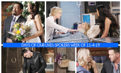 Days of Our Lives Spoilers Week of 11-4-19: Wedding Disasters