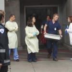 Outside the Hospital
