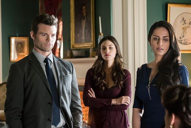 Gia, Hayley and Elijah - The Originals Season 2 Episode 17