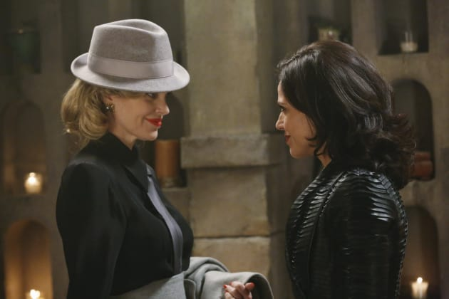 Regina and Maleficent  - Once Upon a Time